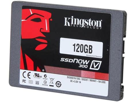 Harddisk Kingston kingston ssdnow v300 series 2 5 quot 120gb sata iii solid state drive ssd sv300s37a 120g