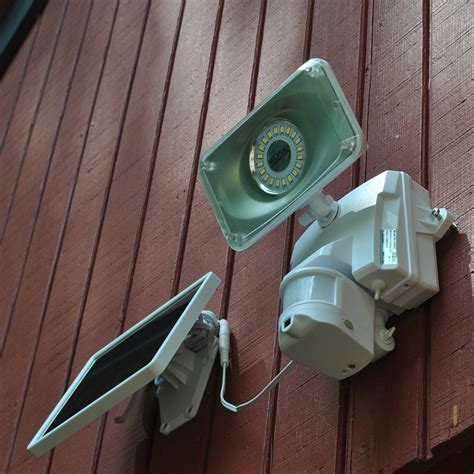 motion activated solar powered motion activated security