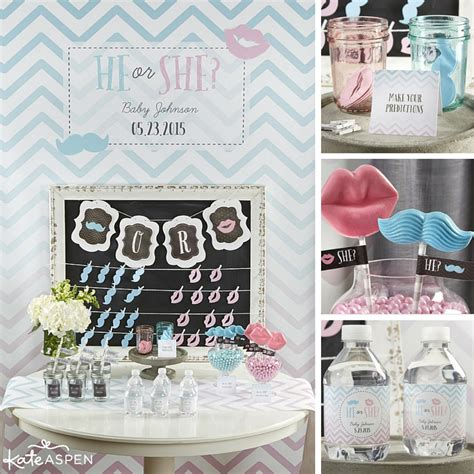 Gender Reveal Decorations by 9 Themes For A Gender Reveal Kate Aspen