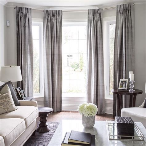 possible window treatment options for bay windows