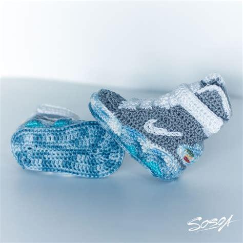 pattern crochet nike booties nike air mag crochet booties for babies