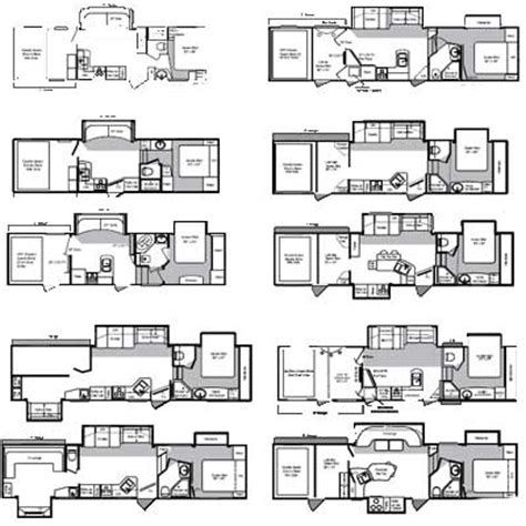 5th wheel toy haulers floor plans bunkhouse toy hauler wow blog