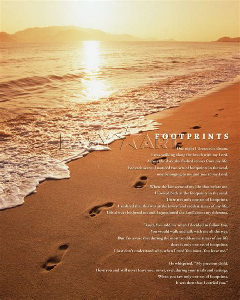 printable version footprints in the sand pix for gt footprints in the sand poem printable version
