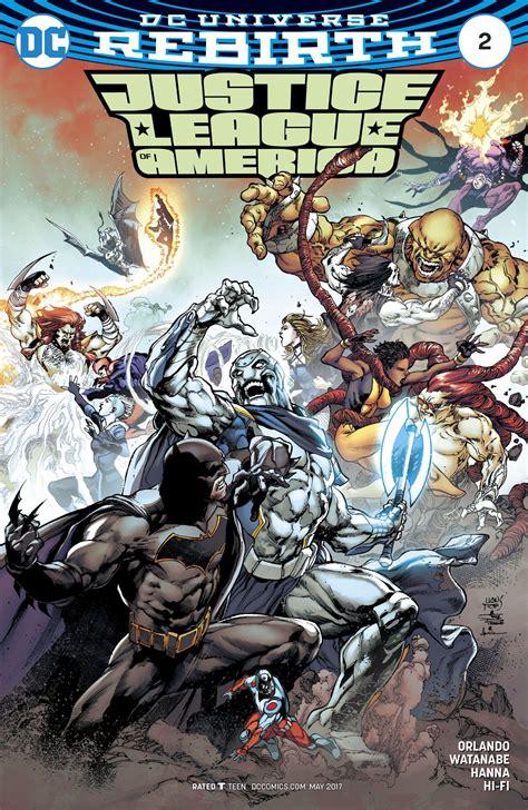 Dc Comics Justice League 14 April 2017 justice league of america 2 all comic