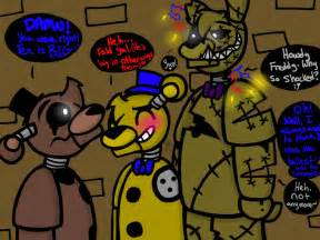 Size matters fnaf freddy goldy and tex by yaoilover113 on