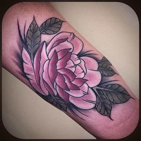 pink rose tattoos pink best ideas gallery