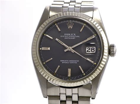 Rolex Date Just Wg For rolex vintage datejust size ref 1601 stainless