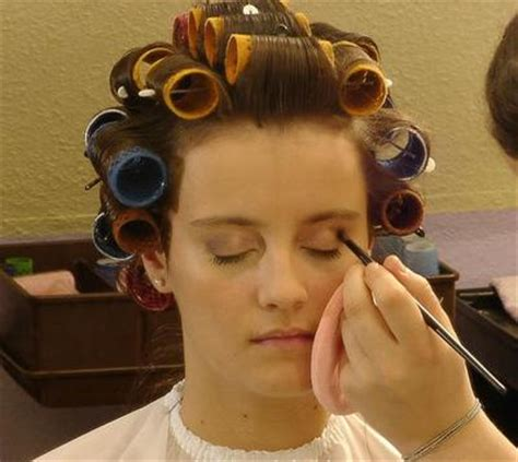 feminizeing hair curlers and makeup i am obsessed with curlers and the