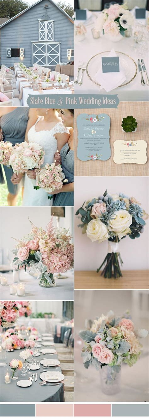 pink and blue wedding colors ten prettiest shades of blue for 2017 wedding color ideas