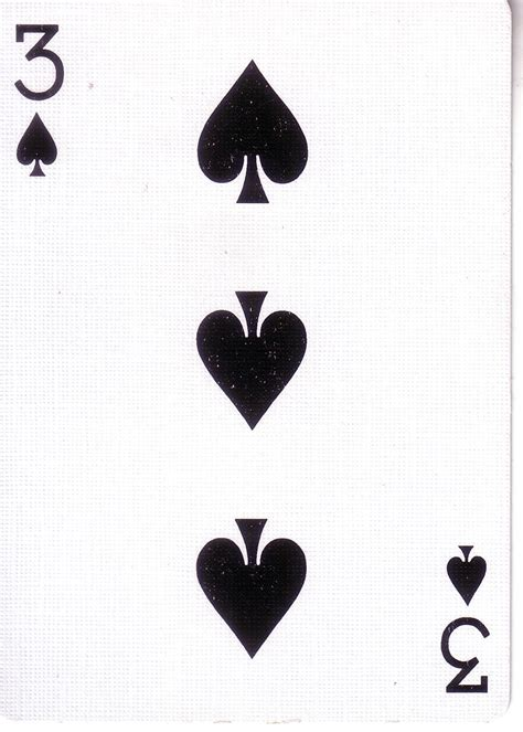 three of spades playingd pictures inspirational pictures