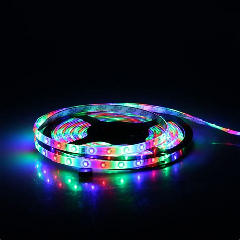 color led light strips 5m smd 3528 300 leds multi color waterproof