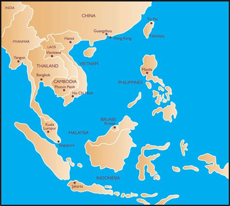 south asia countries map pedrokomentaryo southeast asia top ten countries in the region based on standard of living