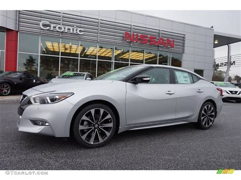 2016 brilliant silver nissan maxima sr 109978660 photo 10 gtcarlot car color galleries