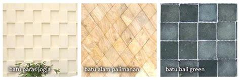 Batu Alam Rtm Andesit Bakaran 20cm X 20cm menggunakan batu alam untuk mempercantik design rumah