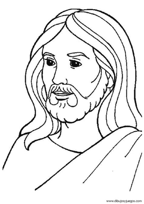 imagenes de jesucristo para dibujar a lapiz dibujo de la biblia 009 jesus dibujos y juegos para