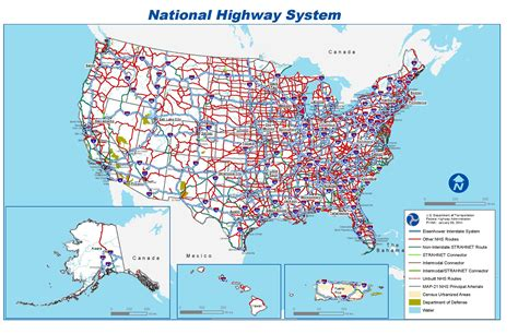 usa map interstate file national highway system map pdf wikimedia commons