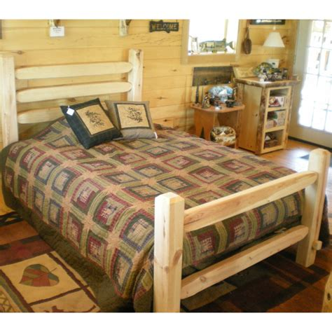 log bed kits twist of nature rustic timberjack pine log bed kit
