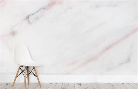 Dining Room Wall Murals by Soft Pastel Pink Marble Wallpaper Murals Wallpaper