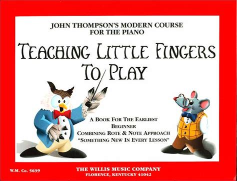 teaching little fingers to 1423494377 teaching little fingers to play by john thompson paperback barnes noble 174