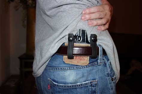 glock 19 concealed carry bravo concealment bc d o s drop out of sight holster