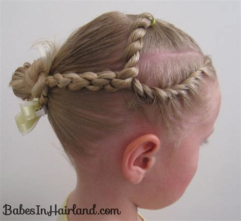scalp twist eith bun twists more twists babes in hairland