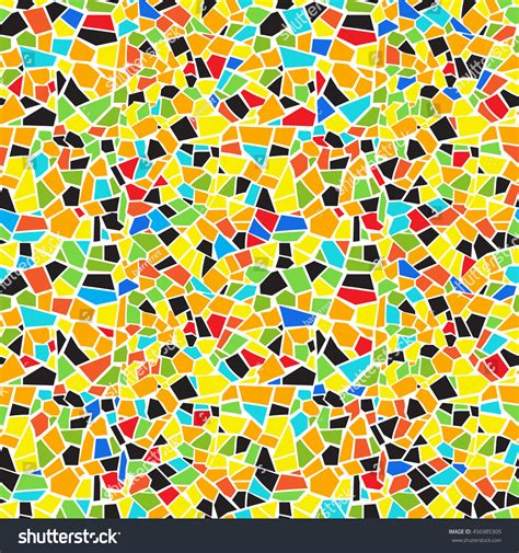 abstract mosaic pattern vector abstract seamless colorful mosaic pattern stock