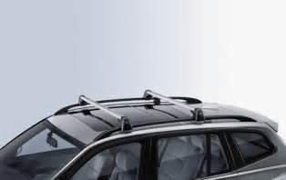 bmw genuine aluminium lockable roof bars rack e83 x3