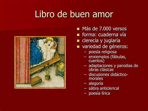 libro de buen amor ppt el libro de buen amor powerpoint presentation id 4156173