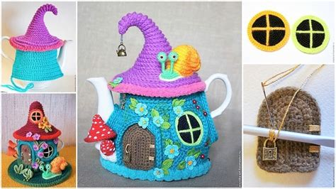 the knit house house teapot cosy pattern is gorgeous the whoot