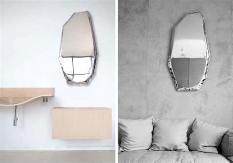 unusual mirrors oskar zieta tafla mirrors unusual form reflects your unique world