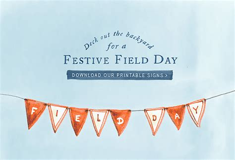Backyard Field Day Backyard Field Day Printable Signs The At Terrain