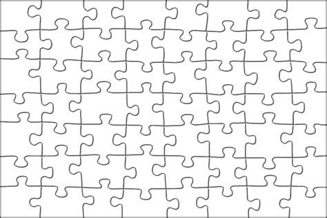 best photos of 20 piece jigsaw puzzle template blank