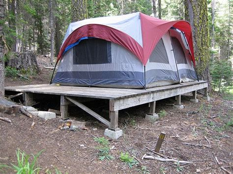 platform tents put the tent up on a platform tent platforms