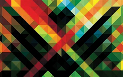 colorful wallpaper triangles www wallpapereast com wallpaper abstract page 4