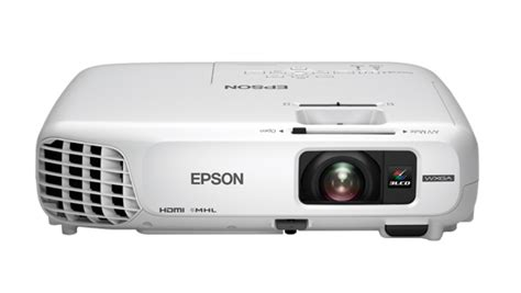 Projector Epson Eb W28 Epson Eb W 28 Portable Business Data Projector Ausmedia