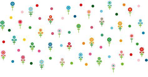 Wandtattoo Kinderzimmer Punkte by Wandsticker Kinderzimmer Romantische Blumen Punkte