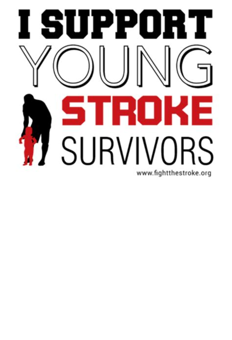 typography stroke support stroke survivors typography worth