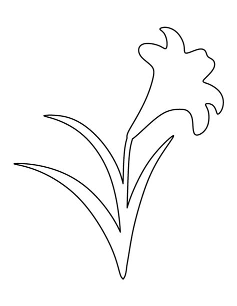 printable paper lily template easter lily template merry christmas and happy new year 2018