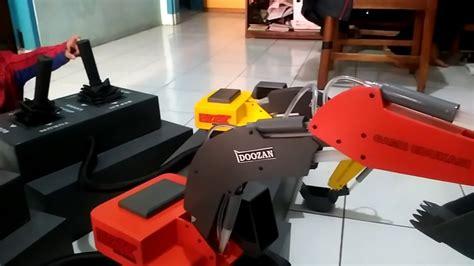 Rc Beko Excavator 8 Channel cara penggunaan mainan beko hidrolik excavator di bebe