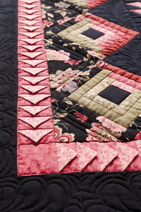 Quilt Borders And Bindings by Borders And Bindings Made With Prairie Points Includes A