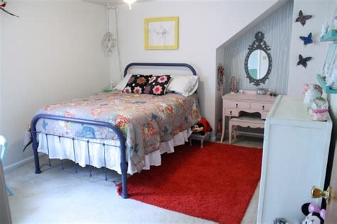 retro bedroom bedroom cheery vintage scandinavian bedroom with shabby