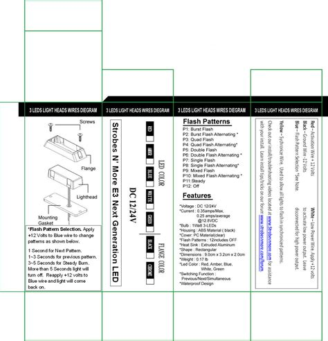 wiring whelen post lights whelen free printable