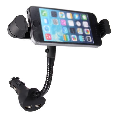 charger holder dual usb car charger cigarette lighter mount holder for