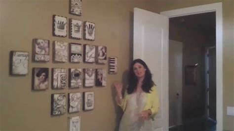 how to hang photos how to hang sid dickens tiles with denise milano youtube