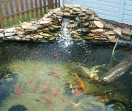 how to build a small waterfall pond how to build a