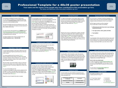 template for a poster poster presentation echinacea