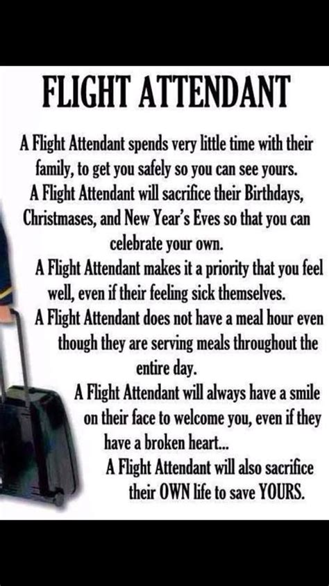 Quotes About Cabin Crew by Flight Attendant Quotes Quotesgram