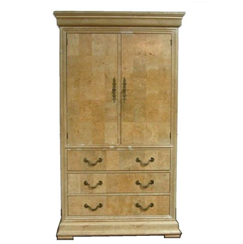 henredon armoire igavel auctions burl olivewood veneered armoire