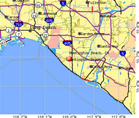 zip code map huntington beach ca huntington beach california ca profile population