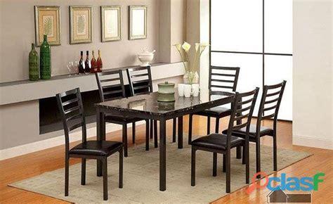 comedor mesa marmol sillas anuncios septiembre clasf